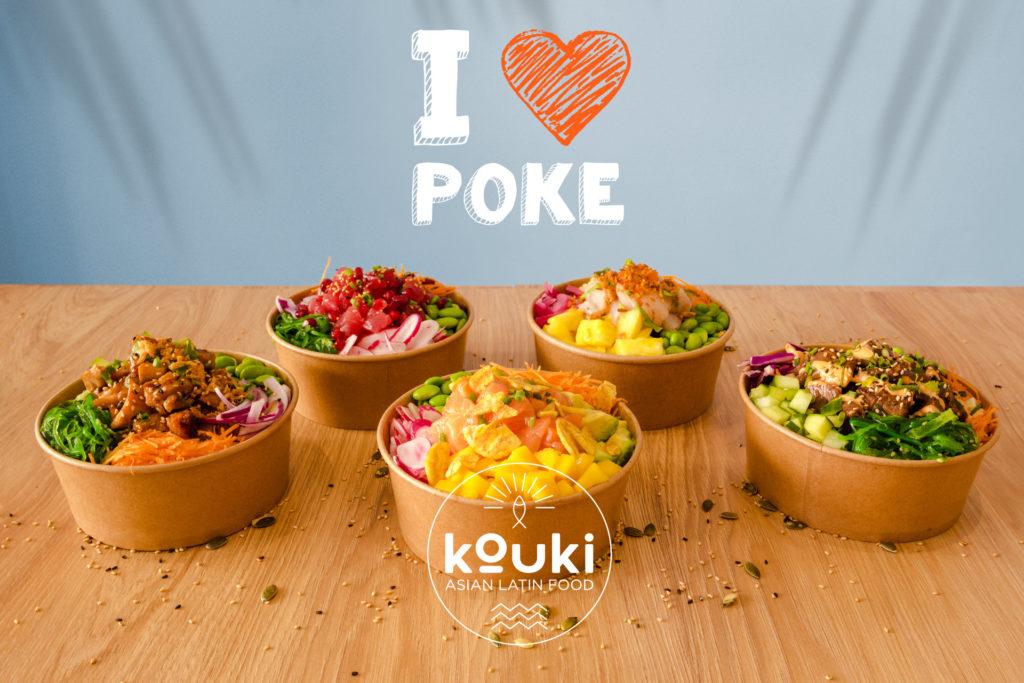 kouki I love poke bowl