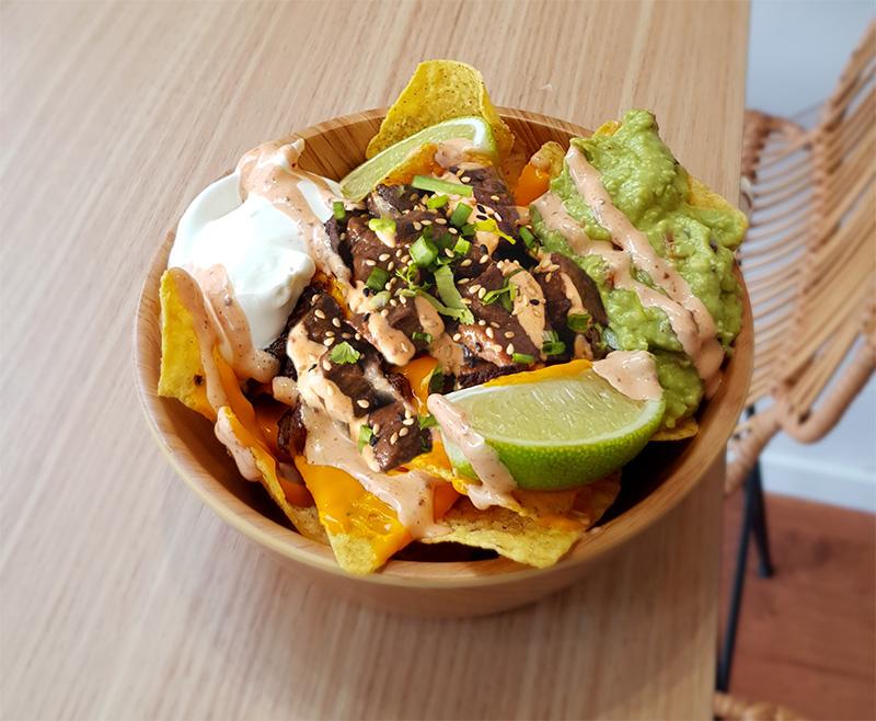 kouki nacho bowl tulum recette