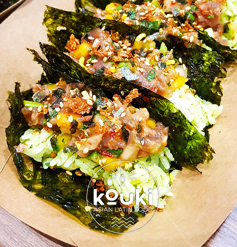 kouki sushi tacos street food